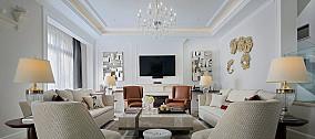 精选面积132平简约四居客厅装修欣赏图片