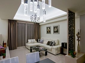 现代一居室家居装饰效果图片