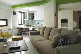75平创意简约小户型居室装修