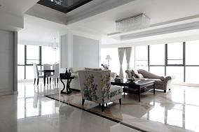 135平米现代四居室设计装修效果图