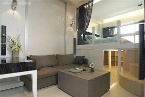 时尚现代单身小公寓loft装修