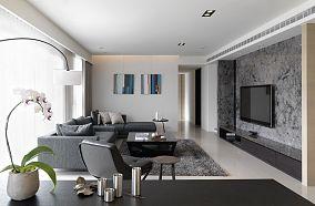 现代两居室装潢设计效果图