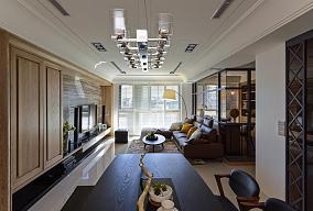 美式风格公寓装饰效果图