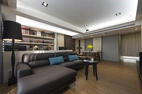 现代宜家风格两居室装修效果图