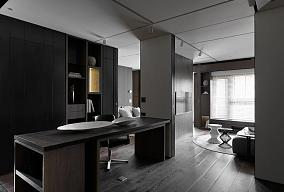 后现代风格一居室设计效果图