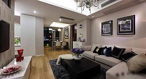 时尚现代二居装潢装修