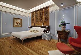 美式典雅卧室效果图装修