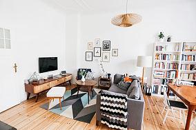 简约现代风一居室装修效果图
