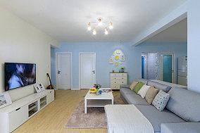 清新简约式二居室内设计效果图