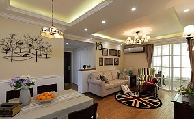 素雅欧式三居室设计