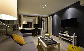 现代家装三居室装饰设计效果图
