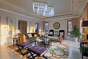 美式古典装修室内三室两厅大全