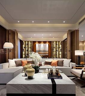 简约美式设计三室两厅欣赏大全