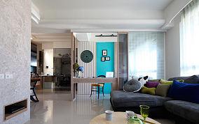 优雅美式风格三室一厅家居装修效果图