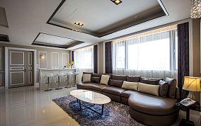 美式现代设计公寓装修效果图片