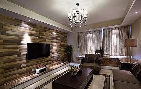 后现代设计两居室装饰效果图片