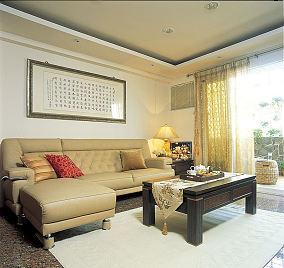 日式现代客厅装饰效果图片