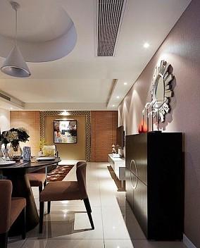 现代沉稳精致二居室设计
