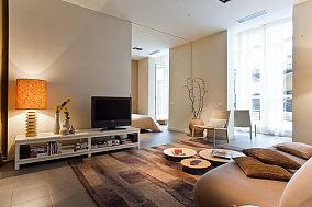 现代简约公寓室内家居装饰效果图片