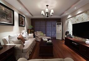 现代美式120平米三室两厅大全欣赏