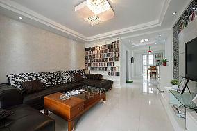 现代家庭三居装潢案例