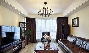 美式风格三居家装效果图片