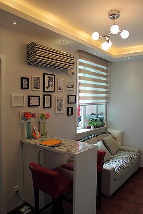 宜家风格家居设计一居室效果图