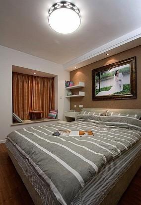 成熟现代风格二居室设计