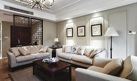 美式风格三居设计装饰效果图片