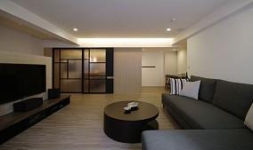 现代日式简约风格二居室设计