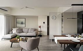北欧简约风格一居室装修设计
