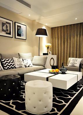 简约现代设计复式家居装修效果图
