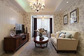 田园设计110平米三室两厅欣赏大全