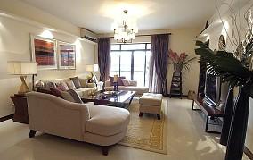 现代中式装修风格三居室设计