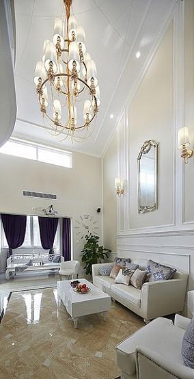 时尚简欧复式家居装修