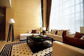 温馨简中式复式家装案例