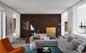简约装饰公寓室内效果图片