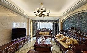 欧式古典三居装潢