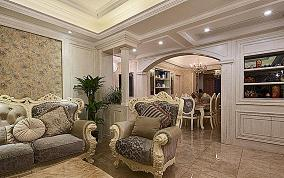 120平甜美欧式三居装潢设计