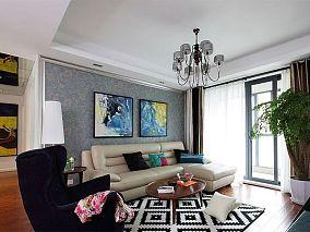 现代风格复式家装设计效果图