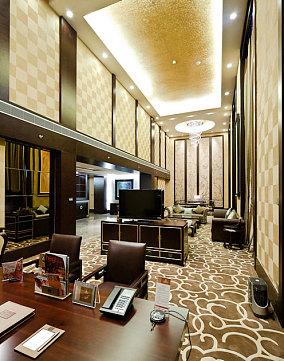 时尚酒店吊顶装饰设计效果图片