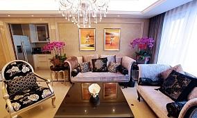 优雅欧式二居装潢装饰