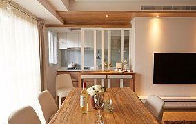 90平美式二居室设计装修图片