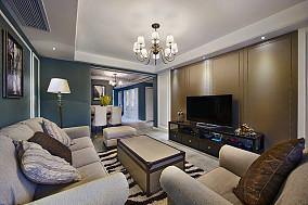摩登现代美式三居装潢大全