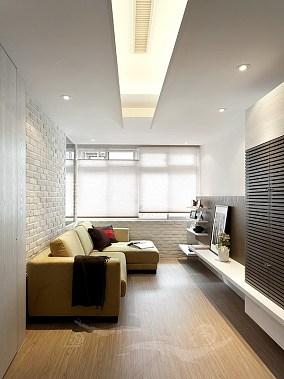 简约风格家庭装修客厅设计