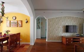 田园气息甜美风格三居室设计