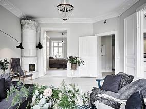 精选面积73平北欧二居装饰图片欣赏