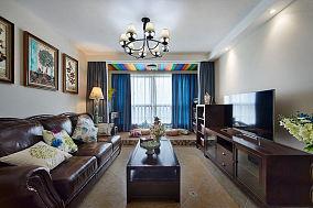 美式家装两居室装饰效果图