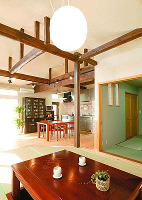 日式经典装修设计三居室设计