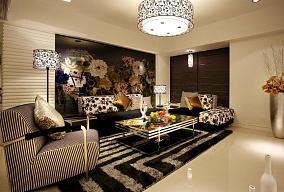 时尚现代两居室装修设计效果图